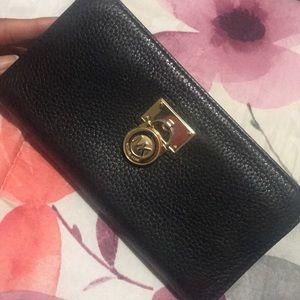 MK black wallet original .